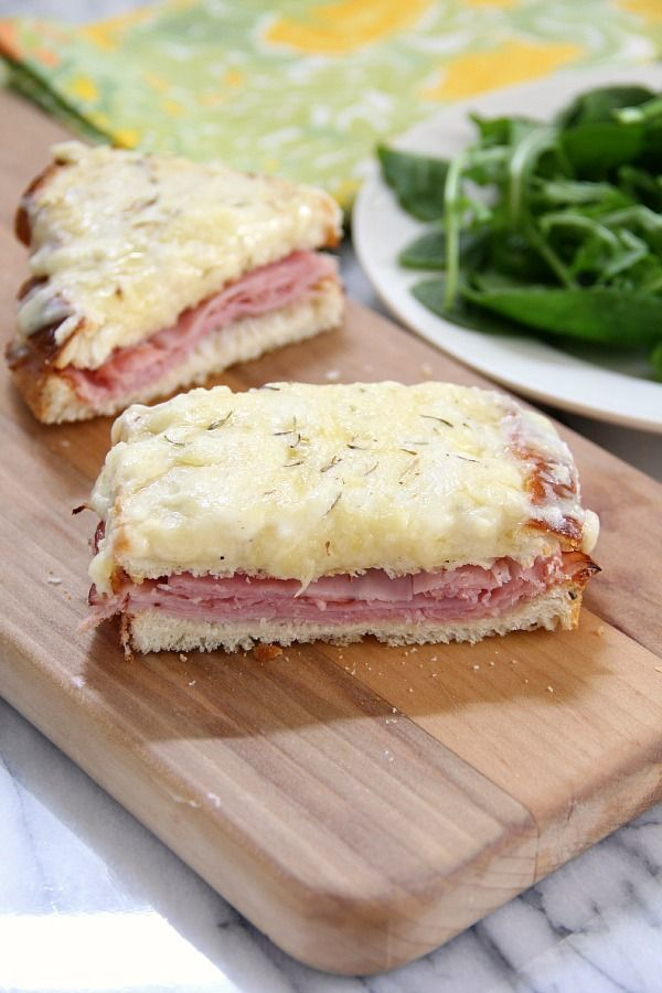 my husbands favorite dinner… croque monsieur